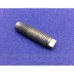 Rocker Arm Lash Adjustment Screw M8 w/Small Head  (Fiat 124 Sedan/Wagon, Fiat 1100, 1200, w/OHV) - OE NOS