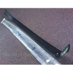 Convertible Top Frame Body Shell Trim Plate (Fiat 124 Spider All) - OE NOS