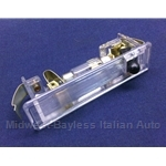 Courtesy Light w/o Surround (Fiat 124 Spider 1968-82, 124 Coupe All, 128) - NEW