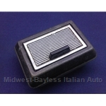 Ashtray Front (Fiat 124 Coupe Spider 1967-78) - U8
