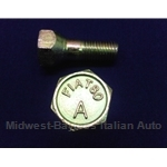 Lug Bolt 27mm - FIAT 80 A -  12x1.5 - Right Hand Thread (Fiat 850, 600 All) - OE / RENEWED