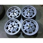 Alloy Wheels SET 4x F.P.S. (Lancia Beta, Scorpion, Fiat 124, 131, 128) - U8