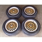 "Alloy Wheels SET 4x ""BWA"" 14x6 (Lancia BETA Zagato, Coupe, HPE) - U8.5"