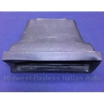 Dash Vent - Center Duct - Non-AC (Fiat Bertone X1/9 1979-88) - U8