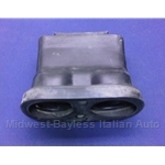 Dash Vent - Center Duct - Non-AC (Fiat X1/9 1973-78) - U8