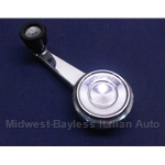 Window Crank Handle (Fiat 124 Coupe) - U8