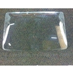 Window Glass Rear w/o Defrost - NA Tinted (Fiat 124 Coupe 1974-On) - U8