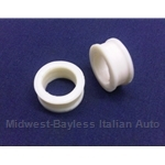 Radius Rod Bracket Internal Bushing PAIR 2x (Fiat Bertone X1/9 All, 128 SL/3P, Lancia Scorpion) - NEW