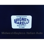 "Restoration Decal - ""MAGNETI MARELLI Superpotente"" Ignition Coil (Fiat Lancia all/Points) - NEW"