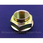 Axle Hub CV Spindle Stake Nut 36mm Hex - Front / Rear (Lancia Beta Coupe, Zagato, HPE, Sedan All) - NEW