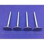 TIPO - Intake Valve SET of 4 - All SOHC 39.5mm (Fiat Tipo / Tempra, Generac + SOHC Big Valve Conversions) - NEW