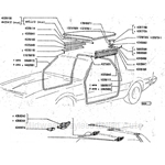 TARGA TOP PARTS LIST
