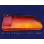 Tail Light Lens Right (Fiat 850 Spider Series 1 EURO - 1966-69) - NEW
