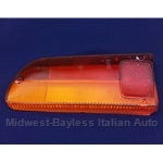 Tail Light Lens Left (Fiat 850 Spider Series 1 EURO - 1966-69) - NEW