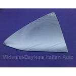 Quarter Window Door Glass Front Left - TINTED (Lancia Scorpion / Montecarlo) - U8