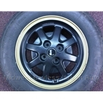 Alloy Wheel F.P.S. - L.E. Black (Lancia Beta) - U9
