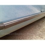 Rocker Panel Trim Strip Right/Left (Lancia Beta Zagato All) - U8