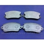 Brake Pad Set - Front Semi-Metallic (Lancia Beta All ) - NEW - BENDIX