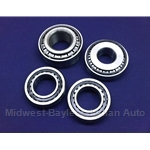 Differential Bearing - KIT 4x (Fiat 124 1966-77 All) - NEW