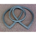 Windshield Rubber Seal Gasket (Fiat 850 Coupe All) - NEW