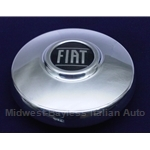 "Hub Cap ""FIAT"" 155mm for Cromodora CD-3, CD-5 (Fiat 124, 850, others) - OE NOS"