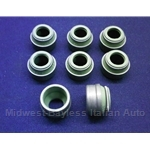 Valve Stem Seal SET 8mm VITON (Fiat Lancia DOHC SOHC) - NEW
