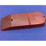 RED TAIL LAMP LENS FIAT 124 WAGON (1969-74) - OE NOS