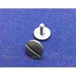 Convertible Top Frame Quarter Window Vertical Trim - Fastening Screw - 4mm (Fiat Pininfarina 124 Spider) - U8