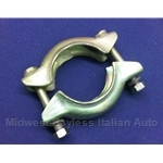 Exhaust Flange Downpipe Slip Joint Collar Clamp Assembly (Fiat X1/9, 128, 124, 131 1975-80) - OE NOS