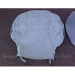 Seat Cover Upholstery Front Upper Gray (Yugo GV 1986) - OE NOS