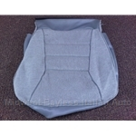 Seat Cover Upholstery Front Lower Gray (Yugo GV Late 1986-On) - OE NOS