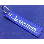 "Key Fob Key Ring ""BERTONE"" - NEW"