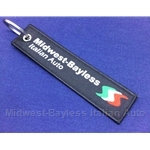 "Key Fob Key Ring ""MIDWEST-BAYLESS"" - NEW"