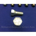 Lug Bolt 24mm - FIAT 80 A -  12x1.5 - Right Hand Thread (Fiat 850, 600 All) - OE / RENEWED