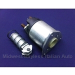 Starter Solenoid Marelli 3-bolt w/10mm Plunger - Late Style (Fiat 124, X1/9, 131, Lancia 1978-On) - NEW
