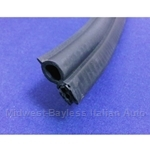 Convertible Top Cover Panel Rubber Weatherstrip on Body (Fiat 850 Spider) - NEW