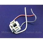 Headlight / Turn Signal Flasher Relay 3-Terminal Connector (Fiat Lancia All) - NEW