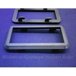 Door Handle Interior Bezel - Black (Lancia Beta Coupe, Zagato, HPE) - NEW
