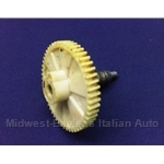 Wiper Motor Gear (Fiat Pininfarina 124 Spider, 131, X1/9 1973-On) - U8