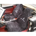 Seat Cover / Car Wash Towel Pair - PININFARINA Logo - NEW