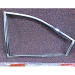 Quarter Window Frame Rear Left Stainless (Lancia Beta Coupe All) - OE NOS