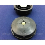 Brake / Clutch Fluid Reservoir Cap Early Style (Fiat 124, X19, 128, 131, Lancia) - U8