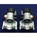 Brake Caliper - SET - Factory OE - Rear 34mm Left + Right (Fiat 124, X19 All) - REMAN