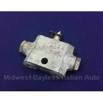 Brake Line Jumper Distribution Block Failure Switch (Fiat 124, 850, X1/9 to 1976) - OE