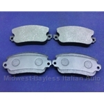 Brake Pad Set - Front Semi-Metallic (Lancia Beta All ) - NEW