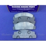 Brake Pad Set -  Rear  High Performance (Fiat 124, X19, Lancia Scorpion) - NEW