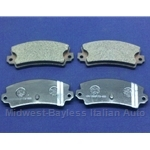 Brake Pad Set - REAR Semi-Metallic (Lancia Beta All) - NEW
