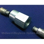 Brake Pipe 5mm - Flare Fitting Union M10x1.25 - Compensator Bypass - ISO BUBBLE (Fiat Lancia All) - NEW