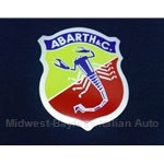 """ABARTH & C."" shield crest Decal - 2 3/4"" x 2 1/4"""