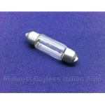 Light Bulb 12v / 5w Courtesy Light  (Fiat Lancia) - NEW